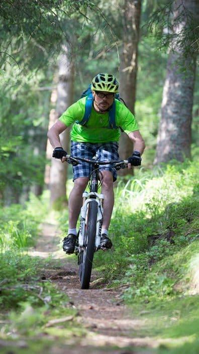 Biker MTB Fahrtechnik Training in Baiersbronn
