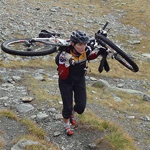 Guide Sophie HIRSCH-SPRUNG MTB Fahrtechnik Team