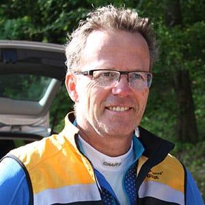 Guide Christian vom HIRSCH-SPRUNG MTB Fahrtechnik Team