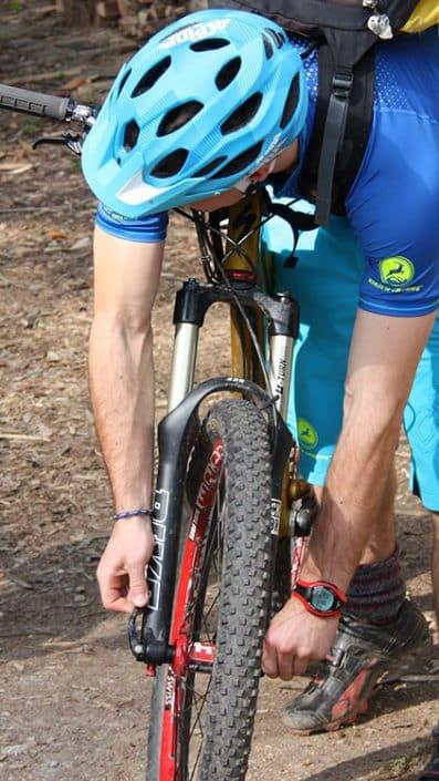 Bike-Check beim MTB Fahrtechnik Training