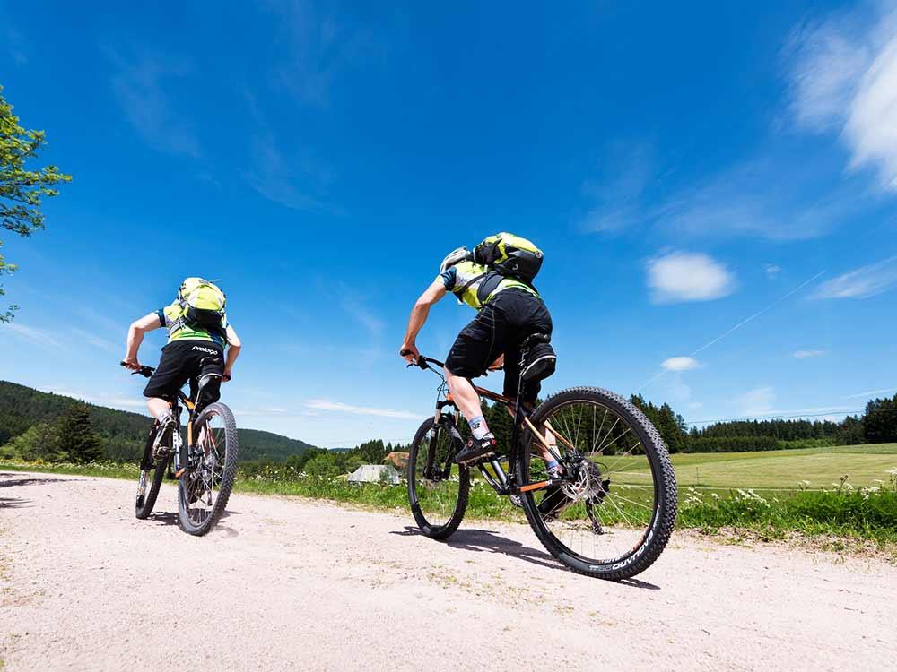 Mountainbiken bei Furtwangen im Schwarzwald