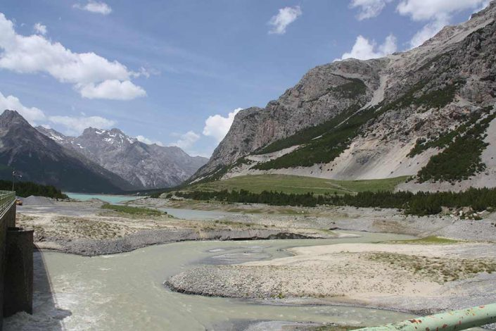 Fluss Mountainbike Alpencross Tour Schmuggler Expert
