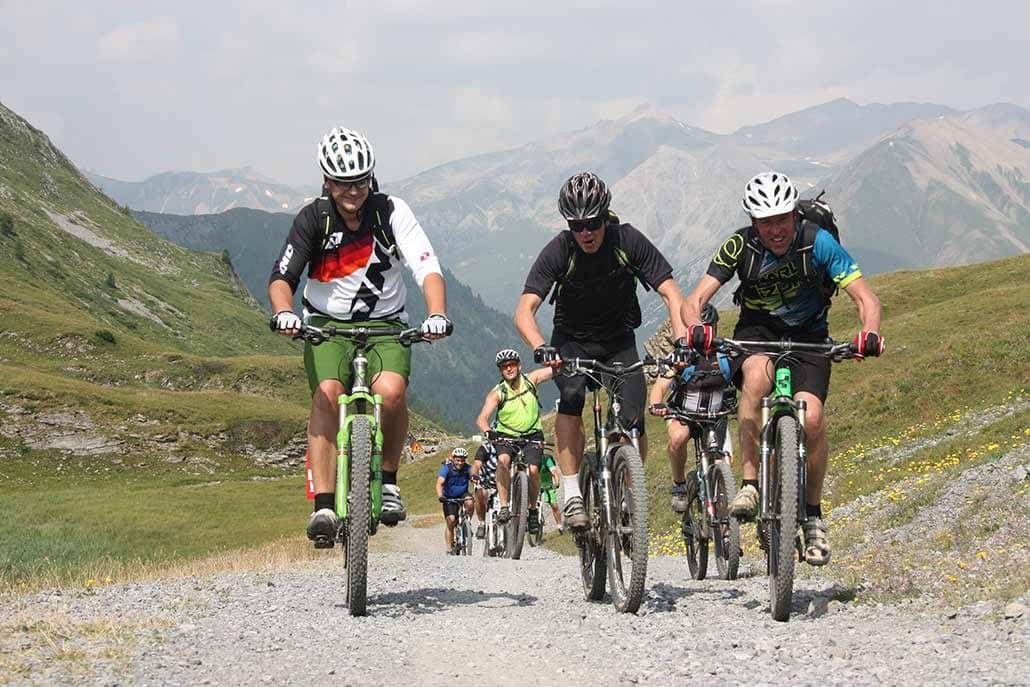 Bikegruppe MTB Reise Alpen Livigno