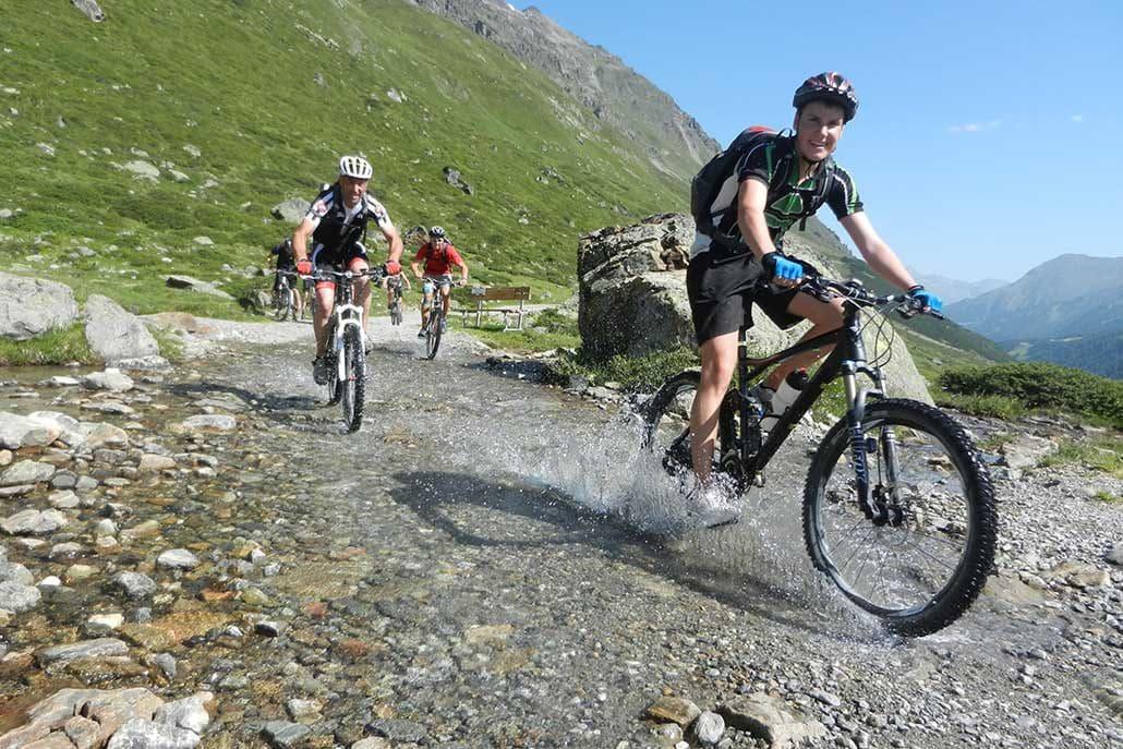 MTB Alpencross Tour Schmuggler Biken in den Alpen