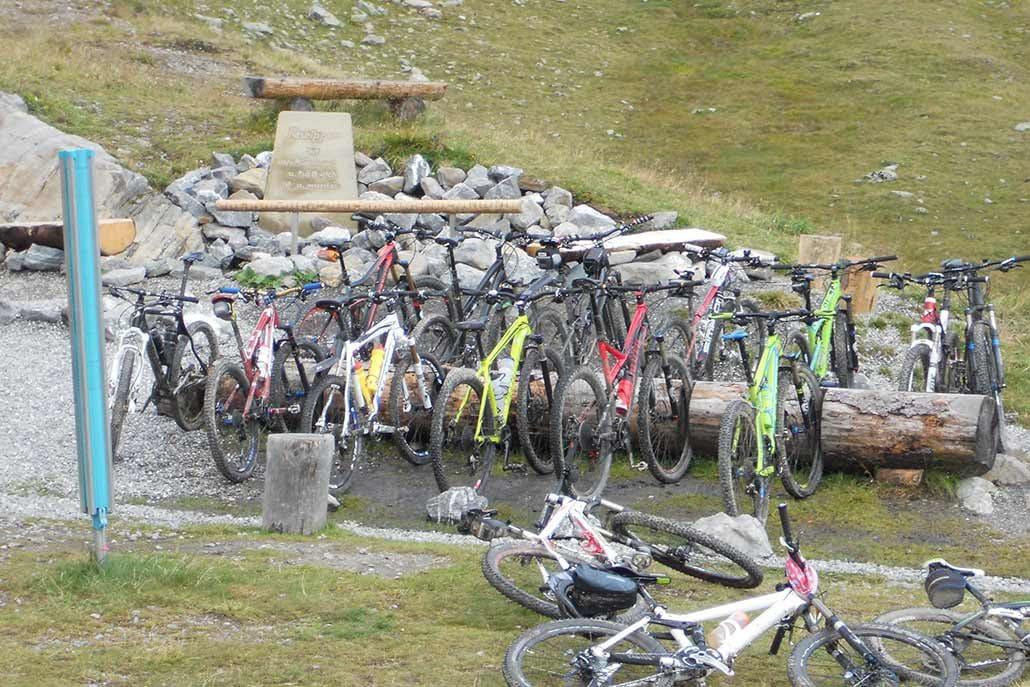 MTB Alpencross Tour Schmuggler Bikes