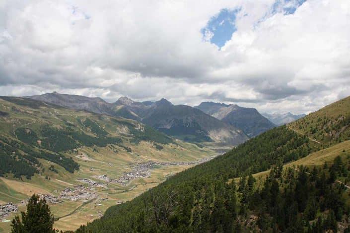 Tal MTB Reise Alpen Livigno