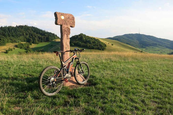 Beim E-Bike Fahrtechnik Kurs kommt man an tolle Ecken.
