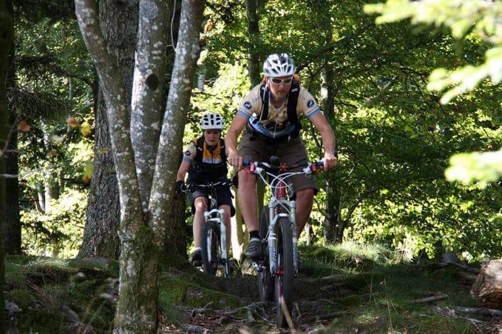 Das Münstertal bietet zahlreiche Singletrails für Mountainbiker
