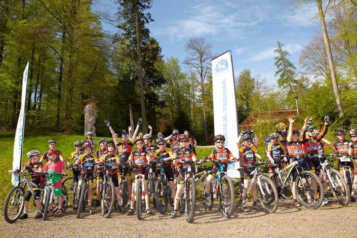 Teilnehmer MTB Kindercamp