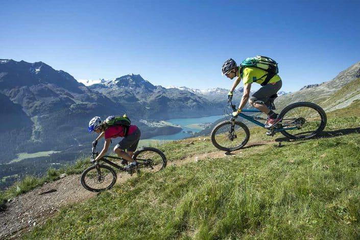 Bikereise Mountainbiketour Alpen Flucht in den Süden