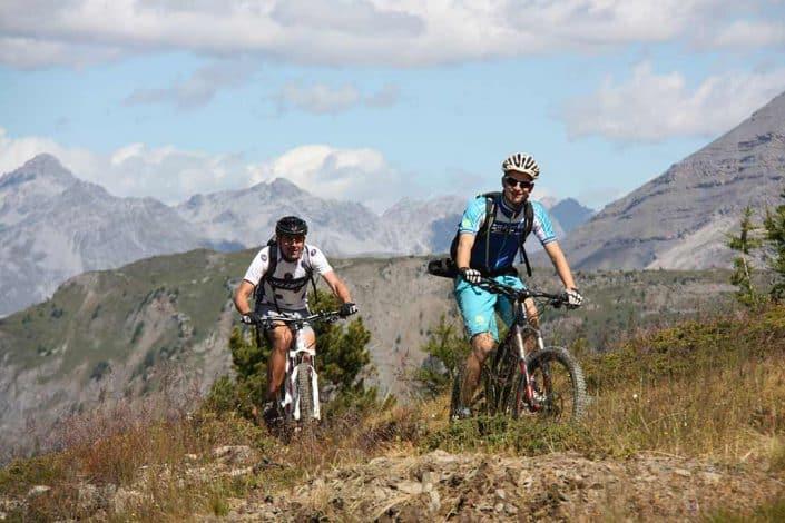 Landschaft MTB Reise Alpen Livigno