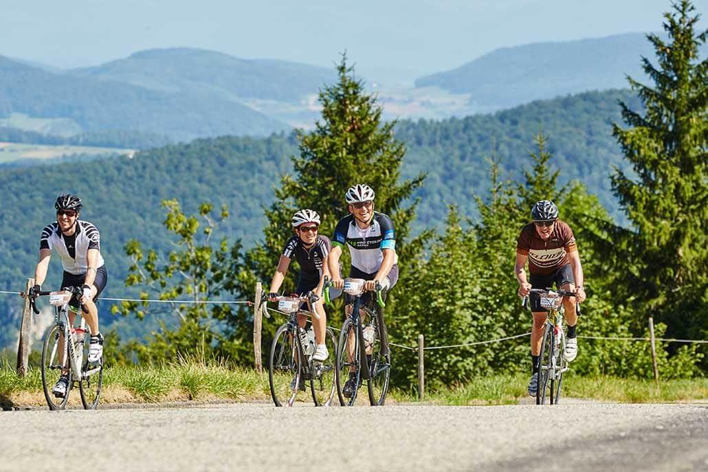 Radfahren Rennrad Tour Belchen