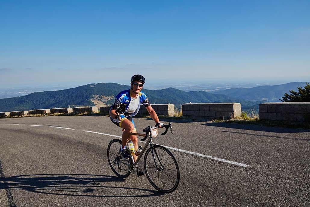 Aussicht Rennrad Tour Belchen