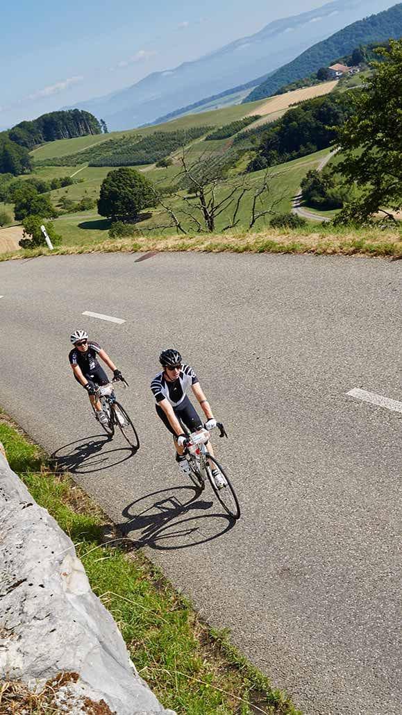 Radfahrer Rennrad Tour Belchen
