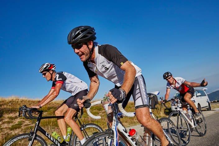 Radfahrer-Team Rennrad Tour Belchen
