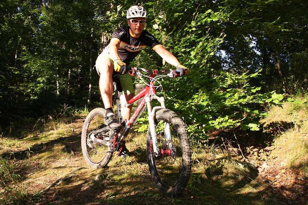 Das Münstertal ist perfekt für Mountainbiker