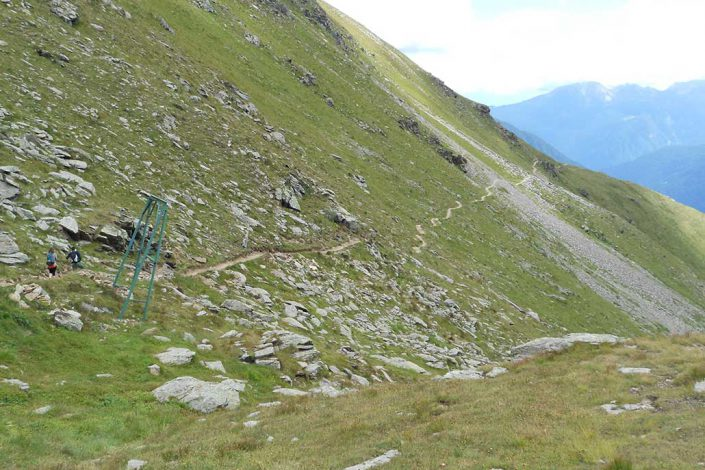 MTB Alpencross Tour Alpen Schmuggler Singletrail