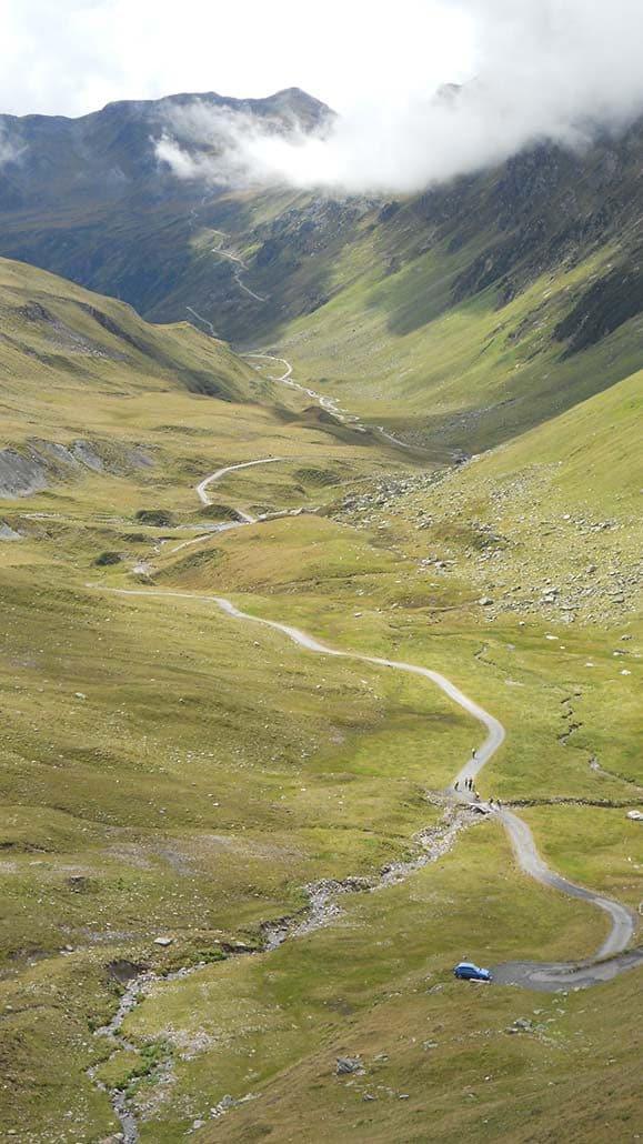 MTB Alpencross Tour Schmuggler Singletrail