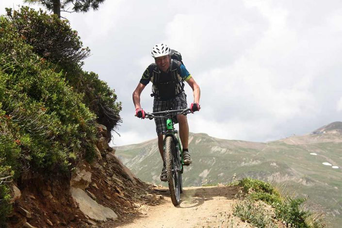 Trail MTB Reise Alpen Livigno