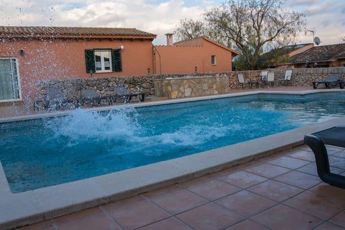 Swimmingpool HIRSCH-SPRUNG Rennrad Reise Mallorca