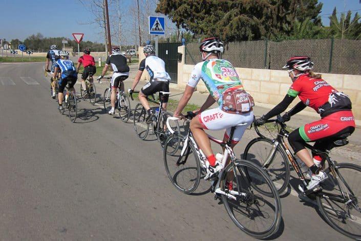 on tour HIRSCH-SPRUNG Rennrad Reise Mallorca