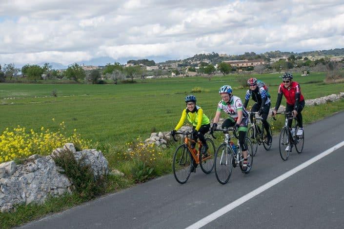 Tour HIRSCH-SPRUNG Rennrad Reise Mallorca