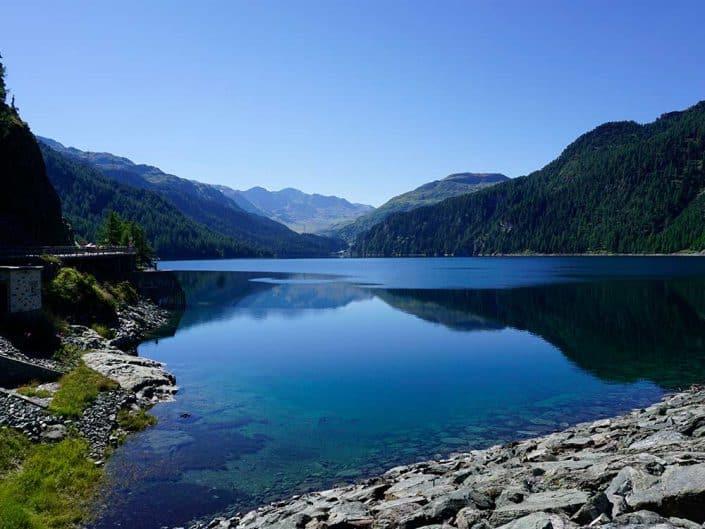 See Mountainbiketour Alpen Flucht in den Süden