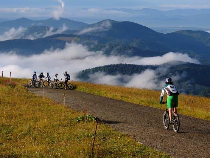 Aussicht Mountainbiken MTB Reise Schwarzwald