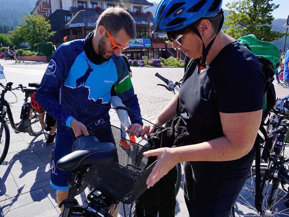 Bikecheck bei Gruppen und Firmen Events mit HIRSCH-SPRUNG
