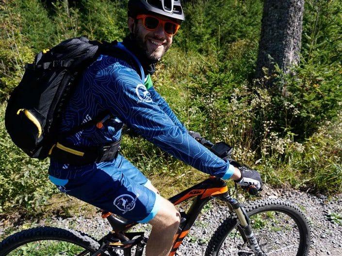 E-Bike Tour für Gruppen und Firmen Waldweg