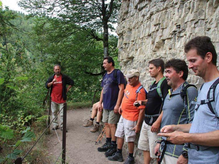 Wandern für Gruppen und Firmen mit HIRSCH-SPRUNG