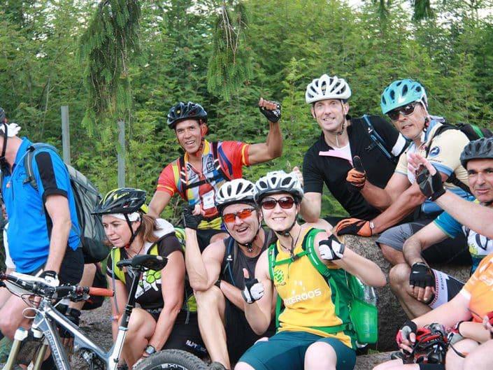 Biketour Event für Gruppen und Firmen mit HIRSCH-SPRUNG