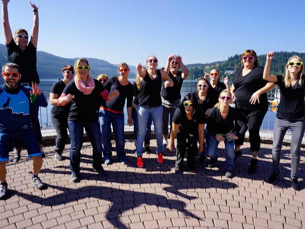 Gruppenbild Ausflug für Gruppen und Firmen