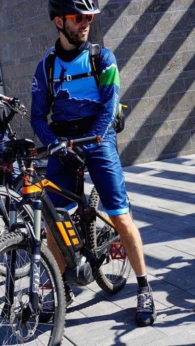 Gruppen und Firmen Events mit E-Bikes mit HIRSCH-SPRUNG Pause