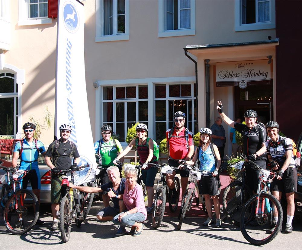 MTB Tour HIRSCH-SPRUNG Gruppen und Firmen Events