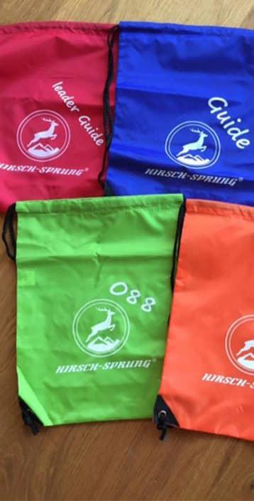 Turnbeutel HIRSCH-SPRUNG Gruppen und Firmen Events