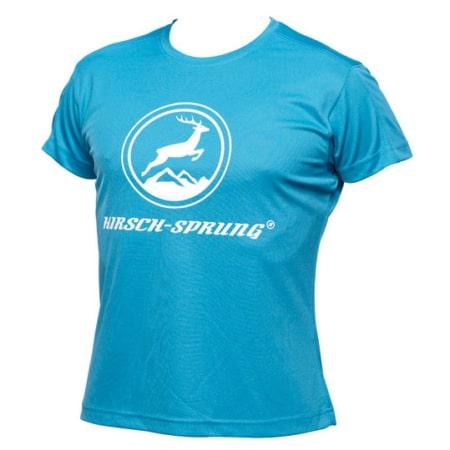 HIRSCH-SPRUNG T-Shirt in blau