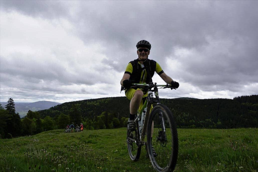 Wolken HIRSCH-SPRUNG MTB Fahrtechnik Training Kirchzarten