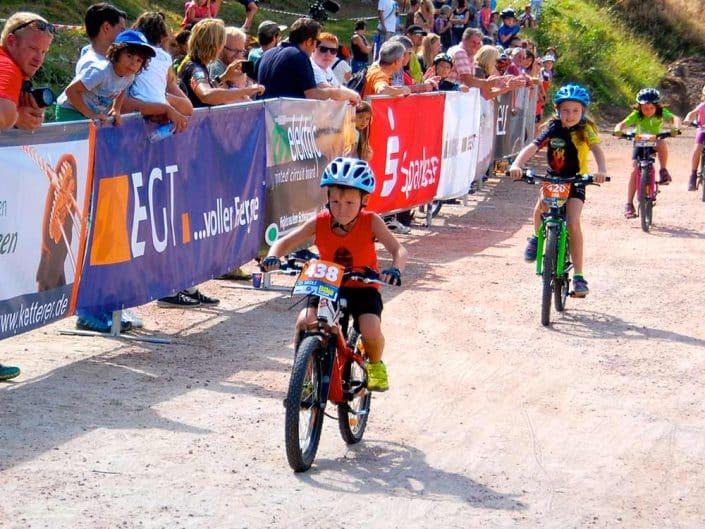 Laufrad Trophy MTB Bike Marathon Furtwangen größere Kinder