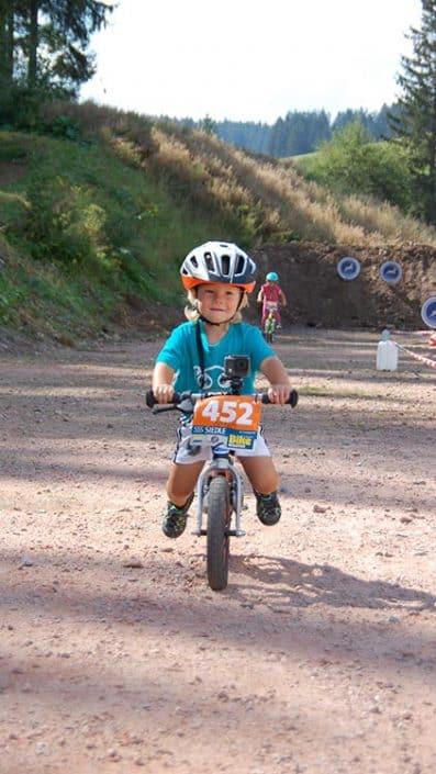 Laufrad Trophy MTB Bike Marathon Furtwangen schon die Kleinen sind dabei
