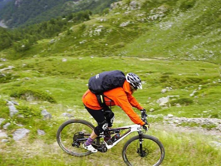 Mountainbiken MTB Alpencross Tour Grischa MTB Ride