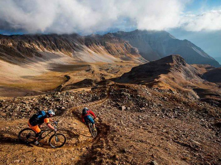 Lenzerheide MTB Alpencross Tour Grischa MTB Ride