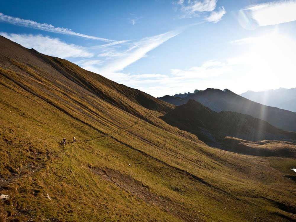 Trail Furcletta Welschtobel MTB Alpencross Tour Grischa MTB Ride