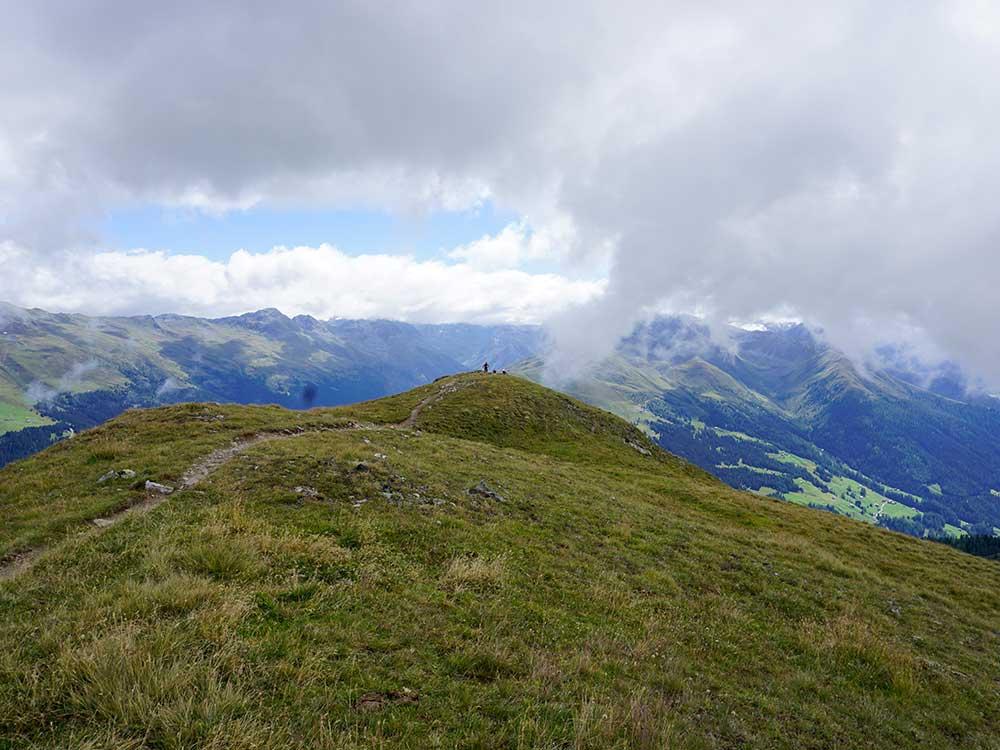 Aussicht Tour MTB Reise Alpen Davos