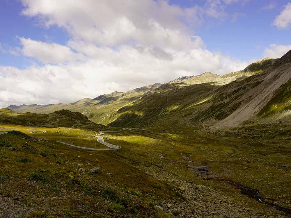 Schöne MTB Tour bei der MTB Reise Alpen Davos