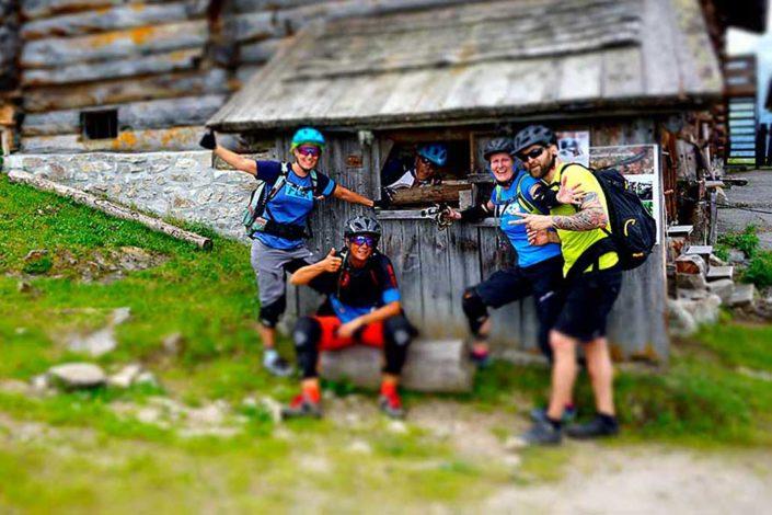 e-mtb trail camp für individuelle Gruppe