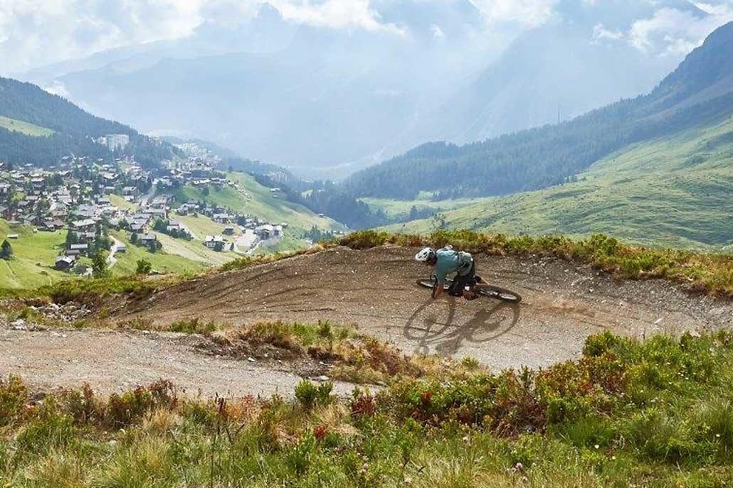 Alpencross in Graubuenden mit Hirsch-Sprung