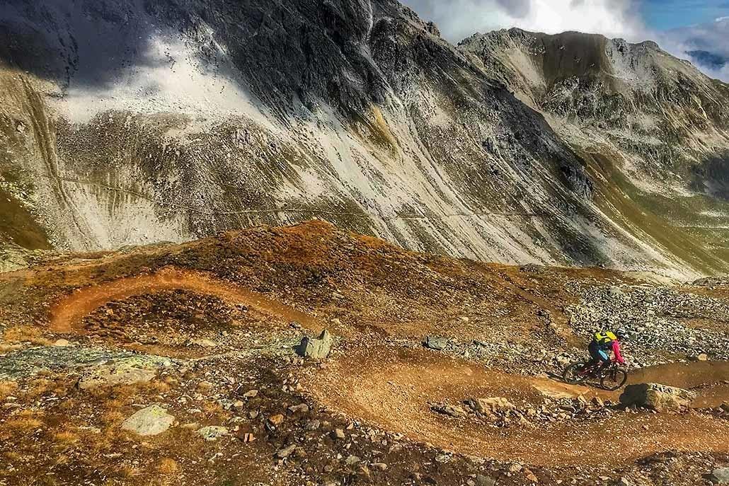 Alpencross Tour mit Hirsch-Sprung