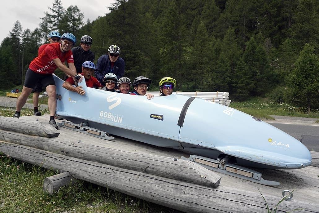 mission trails Alpencross bobb in St. Moritz