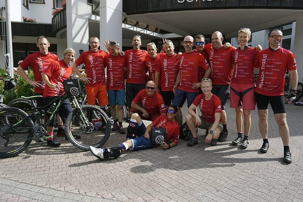 Alpencross individuelle Gruppe